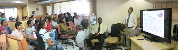ICFAI – Seminar at Concept Infoway