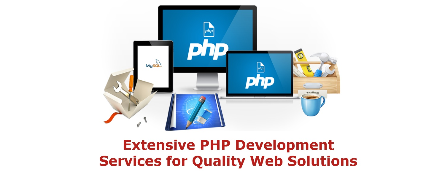 php website development services